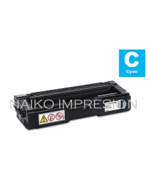 Tóner compatible Ricoh Aficio SP C231N/ C231SF/ C232DN/ C232SF/ C242DN/ C242SF/ C310/ C311N/ C312DN/ C320DN/ C342DN Cyan