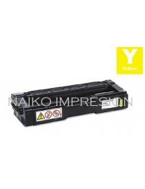 Tóner compatible Ricoh Aficio SP C231N/ C231SF/ C232DN/ C232SF/ C242DN/ C242SF/ C310/ C311N/ C312DN/ C320DN/ C342DN Amarillo