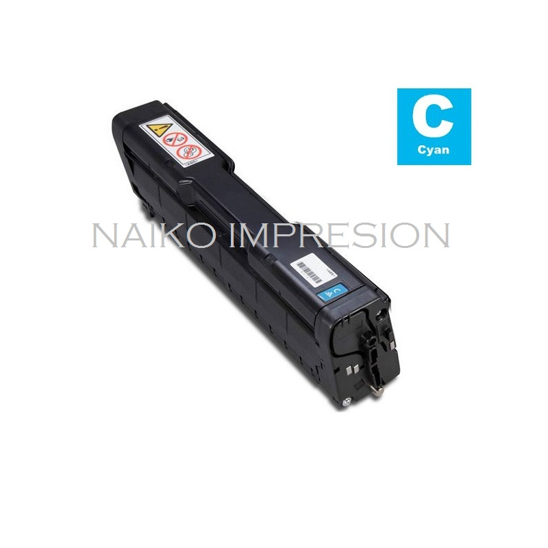 Tóner compatible Ricoh Aficio SP C220N/ C220S/ C221N/ C221SF/ C222DN/ C222SF/ C240DN/ C240SF Cyan