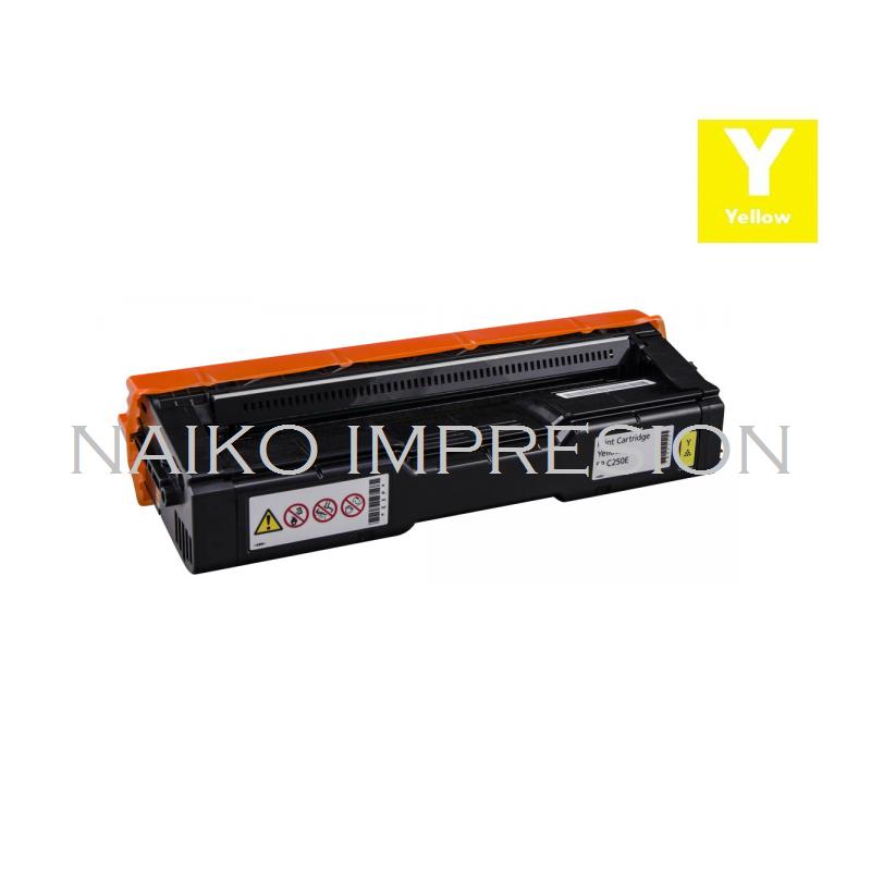 Tóner compatible Ricoh Aficio SP 250DN/ C250E/ C250SF/ C250SFW/ C260DNW/ C260SFNW/ C261DNW/ C261SFNW Amarillo