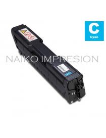 Tóner compatible Ricoh Aficio SP C252DN/ C252SF/ C262DNW/ C262SFNW Cyan