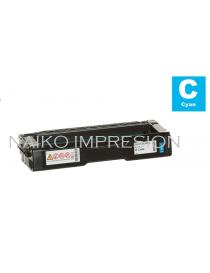 Tóner compatible Ricoh Aficio SP C340DN Cyan