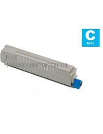 Tóner compatible Oki C823/ C833/ C843 Cyan