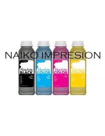 Recargas tóner Oki C332/ MC363. 1 botella de cada color CMYK