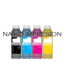 Recargas tóner Oki C3300/ C3400/ C3450/ C3500MFP/ C3520MFP/ C3530MFP/ C3600/ MC350/ MC360. 1 botella de cada color CMYK
