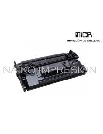 Tóner MICR compatible con Hewlett Packard Laserjet Enterprise M506/ MFP M527/ Flow MFP M527/ Pro M501