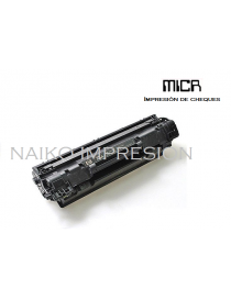Tóner MICR compatible con Hewlett Packard Laserjet Pro M1530/ M1536/ M1536dnf/ P1560/ P1566/ P1606dn