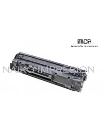 Tóner MICR compatible con Hewlett Packard Laserjet M1212nf/ M1217nfw/ M1132/ Pro P1102/ P1102w/ P1109/ P1109w