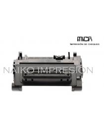 Tóner MICR compatible con Hewlett Packard Laserjet Enterprise 600 M601/ M602/ M603/ M4555 MFP