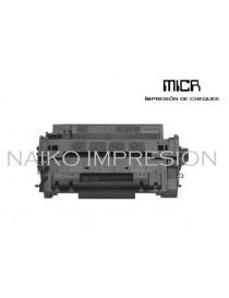 Tóner MICR compatible con Hewlett Packard Laserjet Enterprise 500 MFP M525/ P3015/ Pro MFP M521