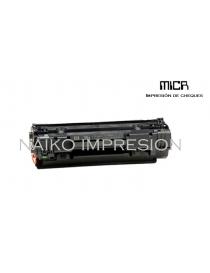 Tóner MICR compatible con Hewlett Packard Laserjet M1120/ M1120n/ M1522n/ M1522nf/ P1505/ P1505n