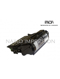 Tóner MICR compatible con Lexmark T650/ T652/ T654/ T656