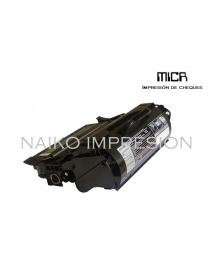 Tóner MICR compatible con Lexmark X651/ X652/ X656/ X658 MFP