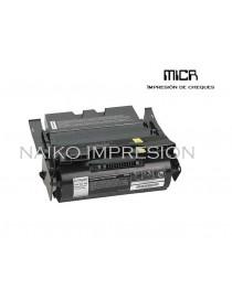 Tóner MICR compatible con Lexmark X642/ X644/ X646