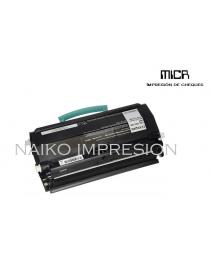 Tóner MICR compatibe con Lexmark E260/ E360/ E460/ E462