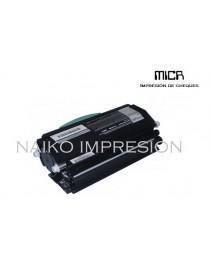 Tóner MICR compatibe con Lexmark X463de/ X464de/ X466de/ X466dte