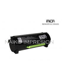 Tóner MICR compatibe con Lexmark MS310/ MS312/ MS410/ MS415/ MS510/ MS610