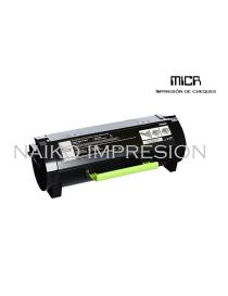 Tóner MICR compatibe con Lexmark MS817dn/ MS818dn