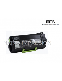 Tóner MICR compatibe con Lexmark MS810/ MS811/ MS812
