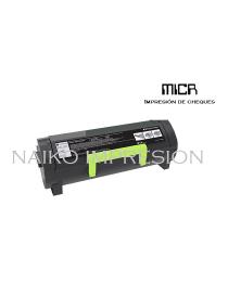 Tóner MICR compatibe con Lexmark MS317/ MS417/ MS517/ MS617/ MX317/ MX417/ MX517/ MX617