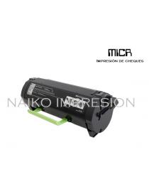 Tóner MICR compatibe con Lexmark MX717de/ MX718de