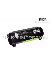 Tóner MICR compatibe con Lexmark MX710/ MX711/ MX810/ MX811/ MX812 Series