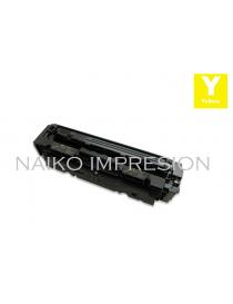 Tóner compatible con Hewlett Packard Color Laserjet Pro M254/ MFP280/ MFP281 Series Amarillo