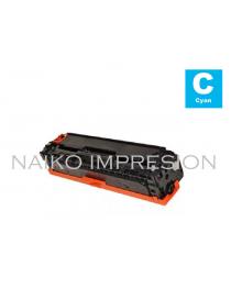 Tóner compatible con Hewlett Packard Color Laserjet CP1215/ CP1515/ CP1518/ CM1312  Cyan