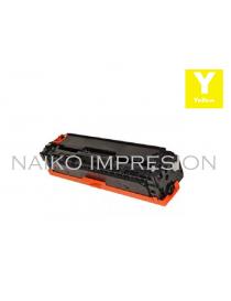 Tóner compatible con Hewlett Packard Color Laserjet CP1215/ CP1515/ CP1518/ CM1312  Amarillo