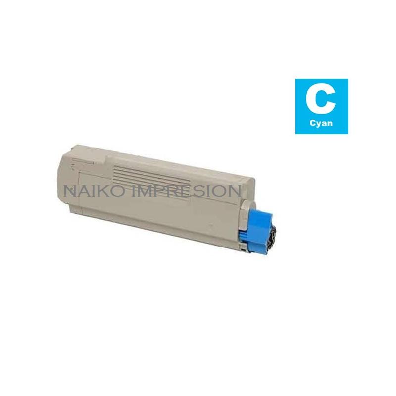 Tóner compatible Oki Executive ES6412 Cyan
