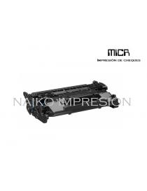 Tóner MICR compatible con Hewlett Packard Laserjet Pro M304a/ M404dn/ M404dw/ M404n/ MFP M428dw/ MFP M428fdn/ MFP M428fdw