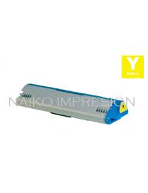 Tóner compatible Oki Pro9542 Amarillo