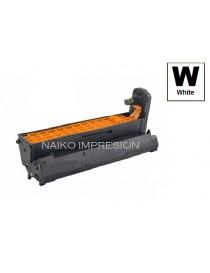Tambor compatible Oki C610 Blanco