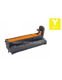 Tambor compatible Oki C610 Amarillo