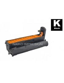 Tambor compatible Oki C612 Negro