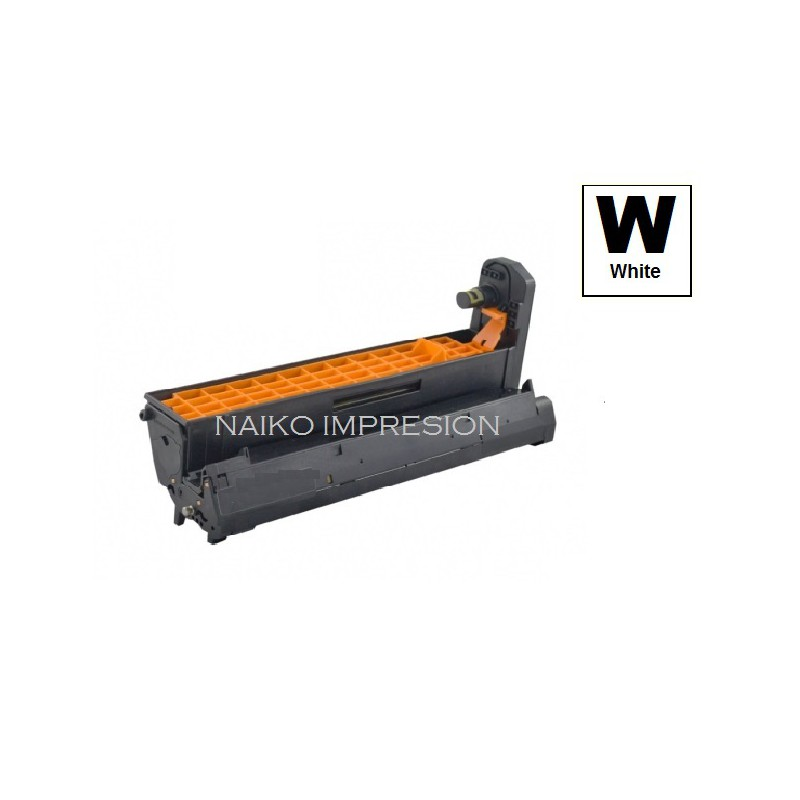 Tambor compatible Oki C711WT Blanco