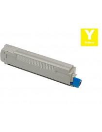 Tóner compatible Oki C8600/ C8800 Amarillo