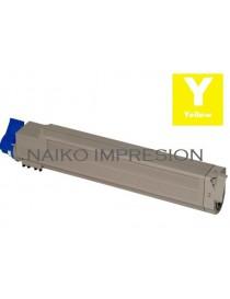 Tóner compatible Oki C9600/ C9650/ C9800/ C9850 Amarillo