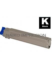 Tóner compatible Oki C9655 Negro