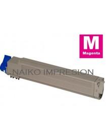 Tóner compatible Oki C9655 Magenta