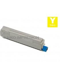 Tóner compatible Oki MC861 MFP Amarillo