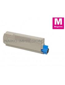 Tóner compatible Oki C612 Magenta