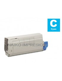 Tóner compatible Oki C712 Cyan