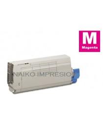 Tóner compatible Oki C712 Magenta