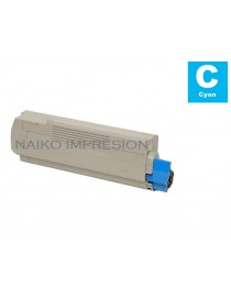 Tóner compatible Oki C5600/ C5700 Cyan