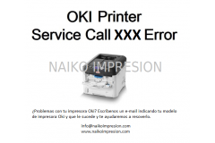 Error Fatal, Service Call Impresora Oki
